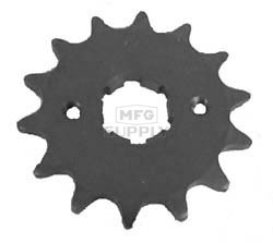 KS003679 - Yamaha ATV 14 tooth front sprocket. Breeze, Tri-Moto, Warrior, Banshee