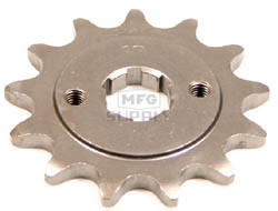 Honda ATV 13 tooth front sprocket. Fits 83-85 ATC200X.