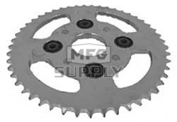 KS003823 - Honda ATV 49 tooth rear sprocket. Fits: ATC110/125/125M & TRX125