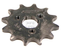 KS003828 - Honda ATV 12 tooth front sprocket. Fits ATC185/185S, ATC200/200S