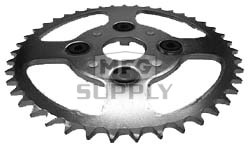 KS003831 - Honda ATV 44 tooth rear sprocket. Fits ATC185S/200S/250R & ATC200S