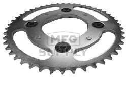 KS003832 - Honda ATV 47 tooth rear sprocket. Fits 83 ATC200E Big Red.