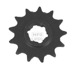 KS003848 - Kawasaki ATV 13 tooth front sprocket. Fits KXT250A & KXT250B