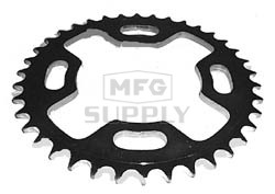 KS003851 - Suzuki ATV 38 tooth rear sprocket. Fits 85 ALT185, 84-87 LT185
