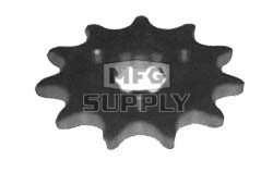 KS003859 - Yamaha ATV 11 tooth front sprocket. Fits Tri-Moto, Big Wheel, etc