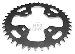 KS003909 - Honda ATV 40 tooth rear sprocket. Fits 85-86 ATC350X.