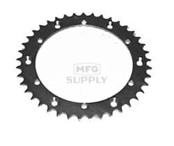 KS004914 - Yamaha ATV 41 tooth rear sprocket. Fits Blaster, Warrior, Banshee,more