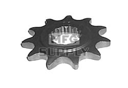 KS004925 - Kawasaki ATV 12 tooth front sprocket. Fits Mojave & Lakota models