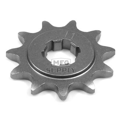 KS004933 - Suzuki ATV 11 tooth front sprocket. Fits 86 LT250EF, 87-89 LT300E