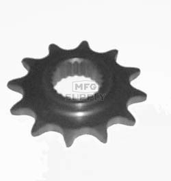 KS004960 - Polaris ATV 12 tooth sprocket. Fits Trail Boss, Xpress 300, & more