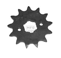 KS004979 - Honda ATV 13 tooth front sprocket. Fits ATC200X, TRX250X & TRX300EX.