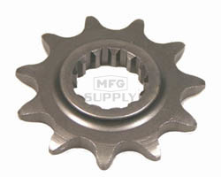 KS004982 - Kawasaki ATV 11 tooth front sprocket. Fits 87-03 KSF250 Mojave.