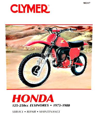 CM317 - 73-80 Honda Elsinores 125-200cc Repair & Maintenance manual