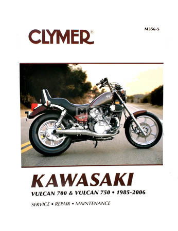 CM356 - 85-06 Kawasaki Vulcan 700 & 750 Repair & Maintenance manual