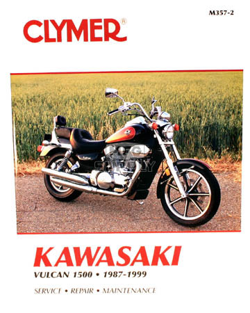 CM357 - 87-99 Kawasaki Vulcan 1500 Repair & Maintenance manual