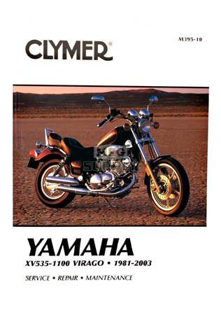 CM395 - 81-03 Yamaha XV535, XV700, XV750, XV920, XV1000, & XV1100 Repair & Maintenance manual