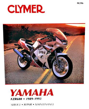CM396 - 89-93 Yamaha FZR600 Repair & Maintenance manual
