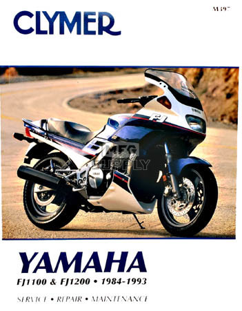 CM397 - 84-93 Yamaha FJ1100 & FJ1200 Repair & Maintenance manual