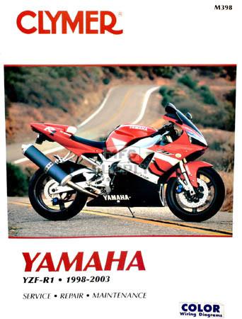 CM398 - 98-03 Yamaha YZF-R1 Repair & Maintenance manual