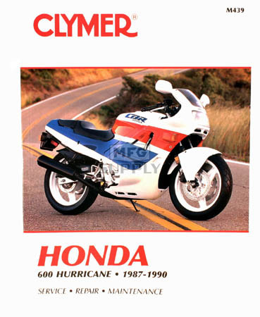 CM439 - 87-90 Honda 600 CBR600F Hurricane Repair & Maintenance manual