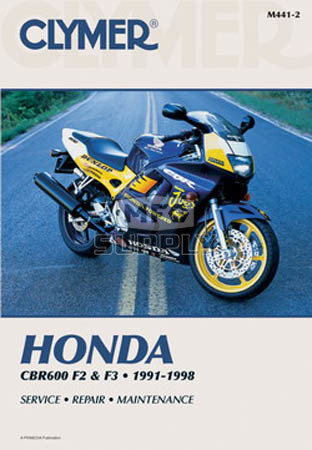 CM441 - 91-98 Honda CBR600 F2 F3 Repair & Maintenance manual