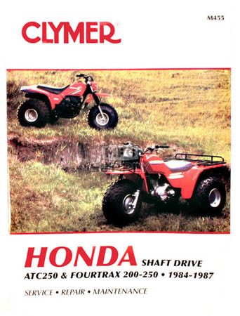 Cm455 84 87 Honda Atc250 Fourtrax 200cc 250cc Repair