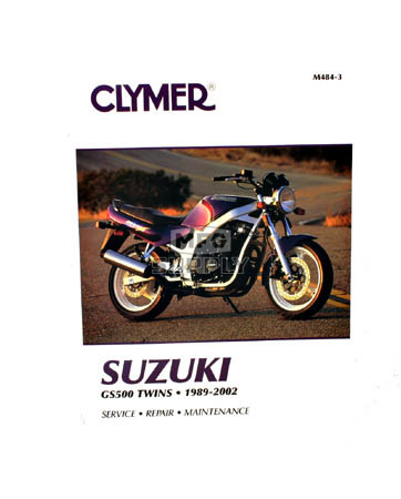 CM484 - 89-02 Suzuki GS500 Twins Repair & Maintenance manual