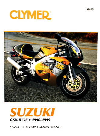 CM485 - 96-99 Suzuki GSX-R750 Repair & Maintenance manual