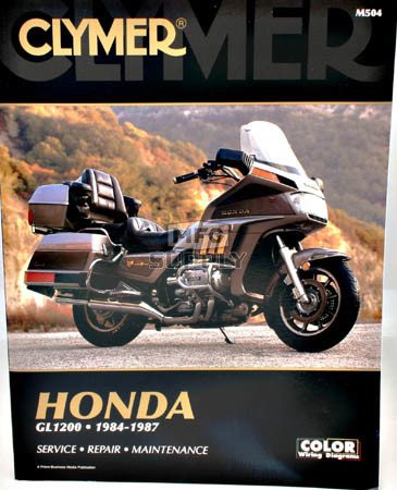 CM504 - 84-87 Honda GL1200 Gold Wing Repair & Maintenance manual