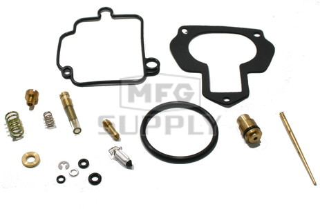 MD03-307- ATV Complete Carb Rebuild Kit for 88-04 Yamaha YFM350X Warrior ATV