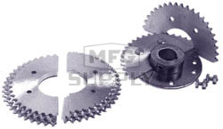 AZ2091 - Aluminum Mini-Sprocket 44 Teeth