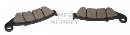 FS-437-H2 - Kawasaki Front Brake Pads.94-96/01-04 KX125, 95-02 KDX200, 97-02 KDX220, 94-96/01-04 KX250, 93-04 KX500