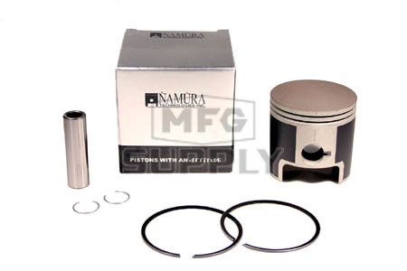 NA-10003-6 - Piston Kit. .060 oversized. Fits 99-04 Honda TRX400EX, Hi-Compression.