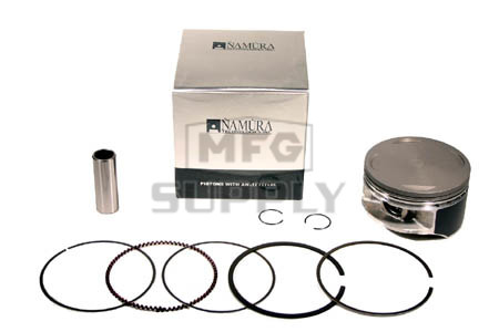 NA-10004 - Piston Kit .440 oversized. Fits 99-04 Honda TRX400EX. 11:1 hi-comp
