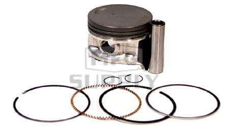 NA-20000-2 - Piston Kit. .020 oversized. Fits many Kawasaki 300cc ATVs