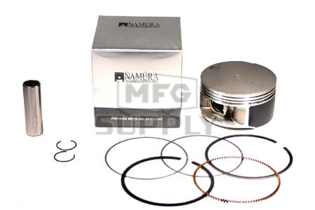 NA-40004-4 - Piston Kit. .040 oversized. Fits many Yamaha 660cc Raptor & Grizzly