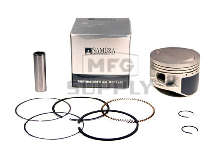 NA-40005-2 - Piston Kit. .020 oversized. Fits many Yamaha 87-04 YFM350 ATVs