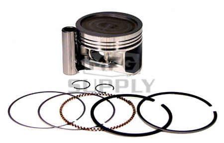 NA-40006-4 - Piston Kit. .040 oversized. Fits many Yamaha 400cc ATVs