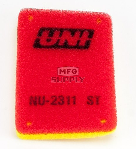 NU-2311ST - Uni-Filter Two-Stage Air Filter. For 07-09 KFX 50, 07-10 KFX 90