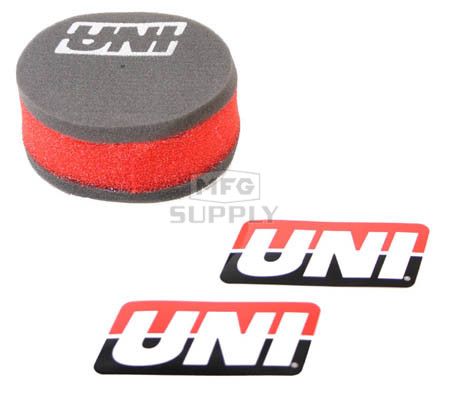 NU-2355ST - Uni-Filter Air Filter. For 85-03 Kawasaki KX 60