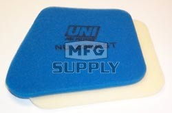 NU-2362ST - Uni-Filter Two-Stage Air Filter. For 95-98 Kawasaki Lakota, 87-04 Majave