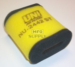 NU-2442ST - Uni-Filter Two-Stage Air Filter for 83-89 Suzuki ALT/LT 125/185