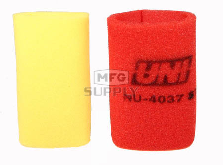 NU-4037ST - Uni-Filter Two-Stage Air Filter for 79-82 Honda ATC110, 81-82 ATC185S, 81-82 ATC200