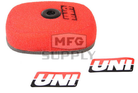 NU-4073ST - Uni-Filter Air Filter. For 84-05 Honda XR200R, 84-85 XR250R.