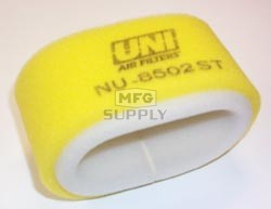 NU-8502ST - Uni-Filter Two-Stage Air Filter for 95-99 Polaris Magnum (oval), 95-99 Scrambler, 96-01 Scrambler 400, 97-99 Sport 400