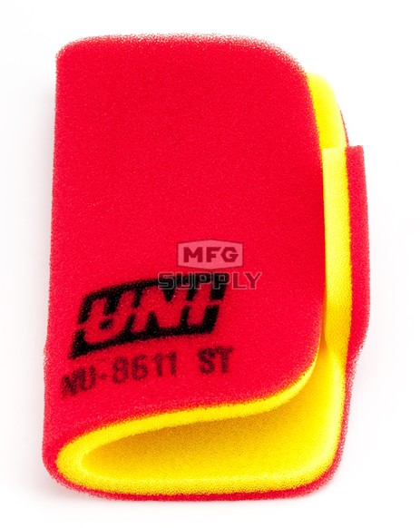 NU-8611ST - Uni-Filter Two-Stage Air Filter for many 2014-newer Arctic Cat HDX 500/700, Prowler 500/550/700/1000 ATVs/UTVs