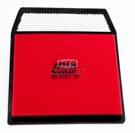 NU-8707ST - Uni-Filter Two-Stage Air Filter for Bombardier/Can-Am Comander 800R/1000, Defender HD8/HD10, Maverick 1000R ATVs/UTVs