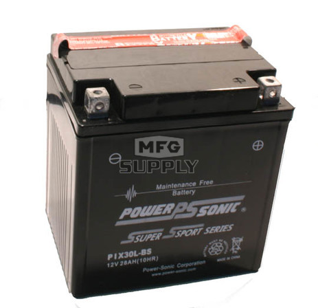 PIX30L-BS - Maintenance Free Battery for Polaris ATVs & Snowmobiles