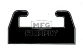 550-218-82 - Polaris Slide Red (sold each). Edge w/Edge/M-10 suspension
