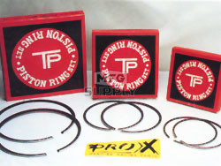 3189TD-atv - Wiseco Replacement Ring Set: .100 Honda & .040 Polaris